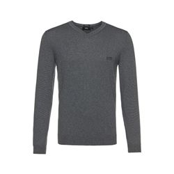 Boss Regular Fit Merino wool v neck sweater