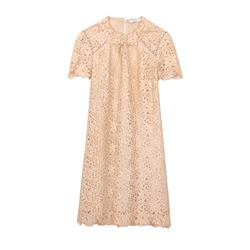 Lace natural dress