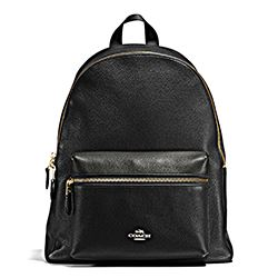 Pebbled Lth Charlie Backpack