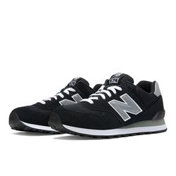 New Balance 574 Core Trainers M574NK Black/Grey