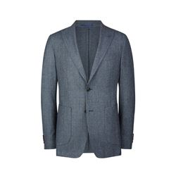 Savoy Taylors Guild  Blue brushed jacket from Bicester Village