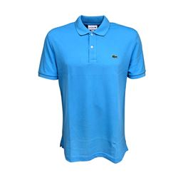 Men's polo in light blue by Lacoste at Ingolstadt Village