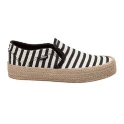 Baskets slip-on rayées