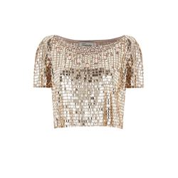 Temperley London Navette crop top at Bicester Village