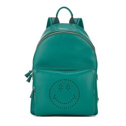 Anya Hindmarch Backpack smiley in veridian circus