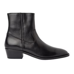 Sandro - Black boots with side zip