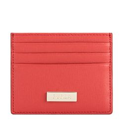 Cardholder in red