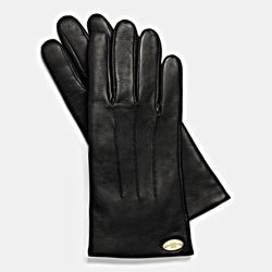 Leather gloves, Coach