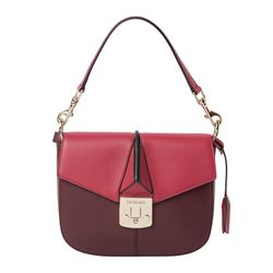 Tru Trussardi - Burgundy bag in two shades