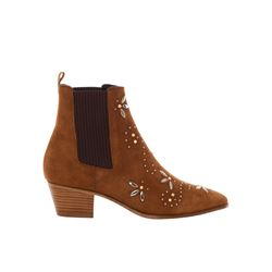 Maje brown Fiesty brown boot from Bicester Village