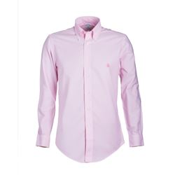 Brooks Brothers  Pink 100% Cotton Oxford Sports Shirt from Bicester Village