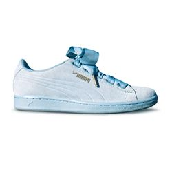 Puma Womens Blue Vikky Ribbon