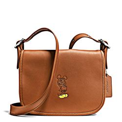 Women's bag 'Mickey Leather Patricia' in saddle by Coach at Ingolstadt Village