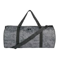 Grey gym bag