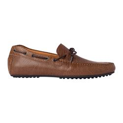 Brown nautical shoe