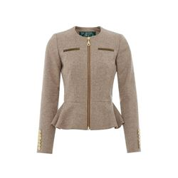 Holland Cooper  Tweed peplum jacket from Bicester Village
