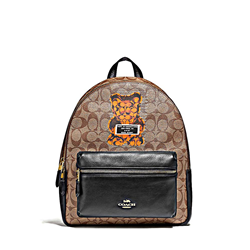'Gummy Bear Charlie' Backpack in Brown by Coach at Ingolstadt Village