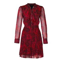 Vestido rojo fall winter
