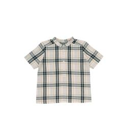Bonpoint  Boys' check linen shirt from Bicester Village