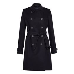 French Connection Trench coat in black