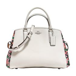 Small Margot carryall rose meadow Coach