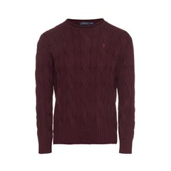 Polo Ralph Lauren aged wine Boxy rollneck from Bicester Village