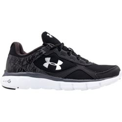Under Armour black training sneakers