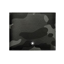 Montblanc Grey Camouflage Wallet from Bicester Village