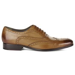 Savoy taylors Guild tan Ted Baker terak brogue from Bicester Village