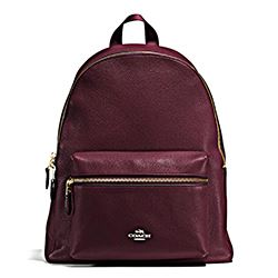 Coach oxblood Charlie backpack