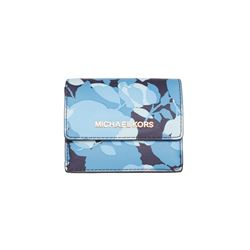 Michael Kors Navy Jet Set Travel Key Holder