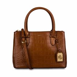 Polo Ralph Lauren Lanesborough tan leather bag