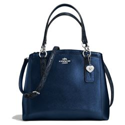 Handbag in darkblue by Coach at Ingolstadt Village
