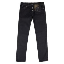 Straight Fit Blue Jeans