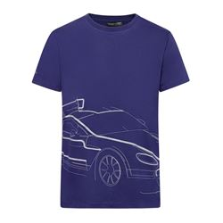 Aston Martin blue T-shirt