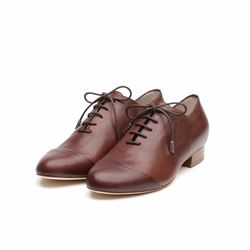 Só Collective Liam Fahy brown lace up brogue