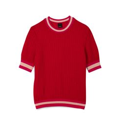 Pinko, Red short-sleeved t-shirt