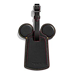 Luggage tag 'Mickey Leather Ear' by Coach at Ingolstadt Village