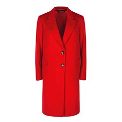 Jaeger Red wool coat