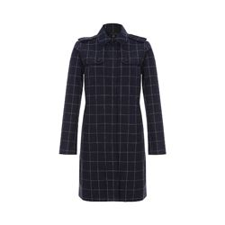 Brooks Brothers Women's Navy Car Coat