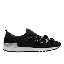Liu Jo - Black sneakers with bead detail