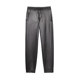 Lak Black Fleece Pant