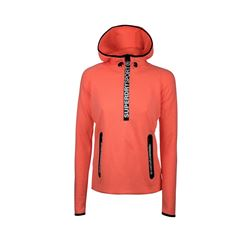 Gym tech hoodie in coral by Superdry at Ingolstadt Village