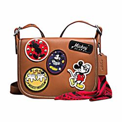 Mickey patches Patricia bag