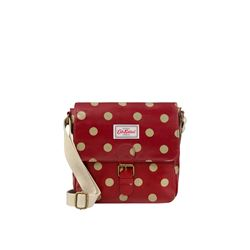 Cath Kidston Mini button spot satchel from Bicester Village