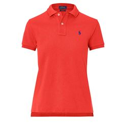 Women's polo shirt in red by Polo Ralph Lauren at Ingolstadt Village