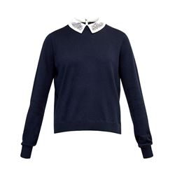 Ted Baker Miriah navy top
