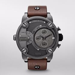 Watch Station Diesel gunmetal watch