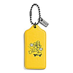 Women's hangtag 'Mickey' in yellow by Coach at Ingolstadt Village
