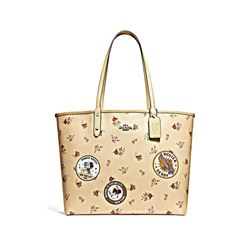 Coach  Minnie floral mix reversible city tote from Bicester Village